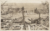"""In the Path of the Cyclone, Brundidge, Ala. April 8th 1937."""