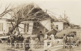 """The Misses Bryant Residence After Cyclone, Brundidge, Ala. Apr 8th 1937."""