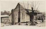 """House Moved by Cyclone, Brundidge, Ala."""