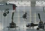 Aircraft at the U.S. Army Aviation Museum at Fort Rucker in Dale County, Alabama.