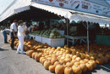 Produce for sale at Peach Park in Clanton, Alabama.
