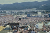Crowd at the annual Alabama June Jam in Fort Payne, Alabama.