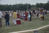 Participants in the Southeast Cherokee Annual Pow Wow in Columbia, Alabama.