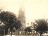 Presbyterian church, at the corner of Randolph and Church Streets in Eufaula, Alabama.