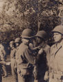 "H. F. ""Jim"" Levy of Birmingham, Alabama, receiving a Bronze Star earned during his Army..."