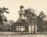 Church building in Cahaba, Alabama.