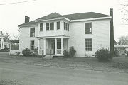 Front (southern) elevation of the Chardavoyne House, at the northeastern corner of Hamilton and...