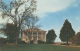 Front (eastern) elevation of Westview (Jonathan Burleson House), on the west side of Indian Hills...