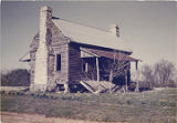 Front (southern) elevation of the Dr. William Murphy House, a quarter of a mile north of Highway...