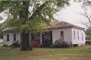 Key House on Enon Road at the northwest corner of Oak Street in the historic area of Midway,...