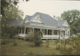General view of the Rogers House in the historic area of Forest Home, Alabama.