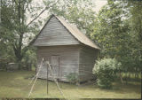 Outbuilding of the Rogers House in the historic area of Forest Home, Alabama.