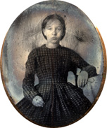 Ellen D. Venable as a young girl.
