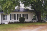 North side elevation of the Enon Plantation on Chunnennuggee Ridge in Union Springs, Alabama.