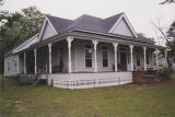 Jinks House on the west side of Railroad Street in the historic area of Midway, Alabama.
