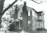 East and front (north) sides of the Montgomery-Dominick House at 1604 Dominick Road in Prattville,...