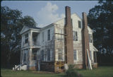 West and front (north) sides of the Montgomery-Dominick House at 1604 Dominick Road in Prattville,...