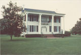Front elevation (south) of Buena Vista (Montgomery-Jones-Whitaker House) on County Road 4 in...