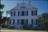Eastern elevation of Buena Vista (Montgomery-Jones-Whitaker House) on County Road 4 in Prattville,...