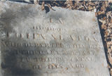 Tombstone of John Slaton (1795-1847) at the Slaton House in Autaugaville, Alabama.