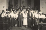 """Negro Choir of African Baptist Church Eufaula, Alabama."""