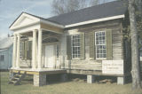 Slaton House from Autaugaville, Alabama, at its new site in Prattville.