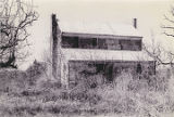 Rear (eastern) elevation and south side of the Underwood House, north of Alabama Highway 14 near...