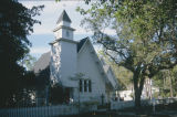 St. Paul's Episcopal Church in the historic area of Magnolia Springs, Alabama.
