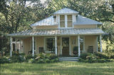 House in the historic area of Magnolia Springs, Alabama.