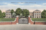 """Entrance to campus, Alabama College, Montevallo, Ala."""