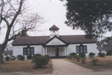 Marietta Johnson Museum in the historic area of Fairhope, Alabama.