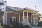 House in the historic area of Stockton, Alabama.