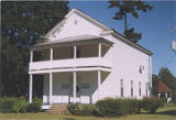 General view of the Masonic lodge in Stockton, Alabama.