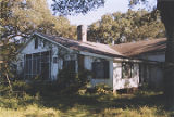 Rear of the kitchen of the McMillan House in Stockton, Alabama.