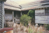 Back porch of the Marshall Plantation in Midway, Alabama.