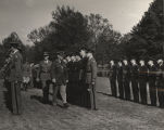 Annual inspection of the ROTC unit at Alabama Polytechnic Institute in Auburn, Alabama.