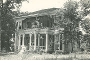 Front (south) elevation of Montpelier, on the north side of U.S. Highway 72 near Cherokee and...