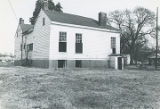 Rear (western) and south side of the Stoddert-Leuddemann House at 505 Hook Street in Tuscumbia,...