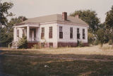 Front (eastern) and north side of the Stoddert-Leuddemann House at 505 Hook Street in Tuscumbia,...