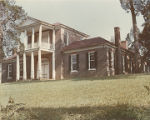 Front (northern) elevation of Belle Mont in Tuscumbia, Alabama.