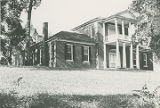 Front (north) and east side of Belle Mont in Tuscumbia, Alabama.