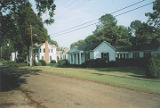 Houses on Oak Street in the historic area of Leighton, Alabama.