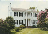 Front (northern) elevation of the Judge Anderson Crenshaw House, on the south side of County Road...