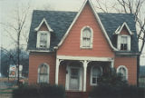 Front of a Hansel and Gretel house on South Wilmer Avenue in Anniston, Alabama.