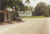 Shaw's Grocery and Sardis Baptist Church in Union Springs, Alabama.