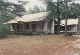 General view of the Bixler House, south of U.S. Highway 84 near the west bank of the Alabama River...