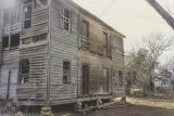 Front (west) of the French-Rivers House in Clarke County, Alabama, after the porch was removed.