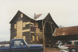 Rear (east) of the French-Rivers House in Clarke County, Alabama, after mothballing.