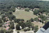 Aerial view of Liberty Village, a federal government housing development in Sheffield, Alabama.
