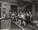 """One of the biology classes in the biology class room.  Huntingdon College."""